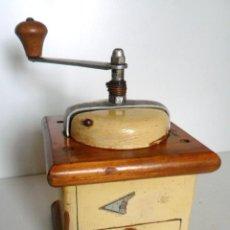 Antigüedades: ANTIGUO MOLINILLO DE CAFÉ MARCA A KYM, ALEMANIA. CA. 1950.. Lote 75203927
