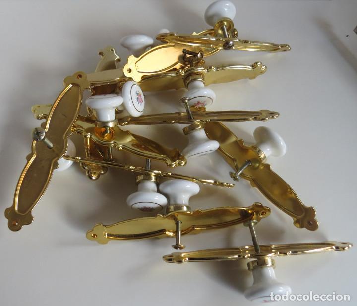 Lote doce tiradores para puertas de armario caj comprar tiradores antiguos en todocoleccion - Tiradores para cajones ...