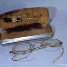 Antigüedades: OFERTA GAFAS ANTIGUAS MARCA COTTET. CON ESTUCHE METÁLICO. Lote 75472659