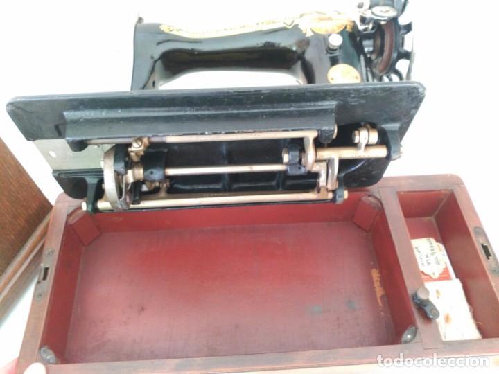 Antigüedades: Maquina coser Singer - Foto 2 - 75472939
