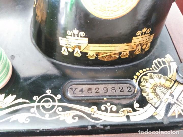 Antigüedades: Maquina coser Singer - Foto 4 - 75472939