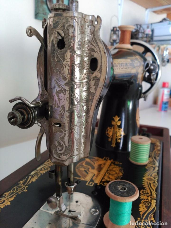 Antigüedades: Maquina coser Singer - Foto 6 - 75472939