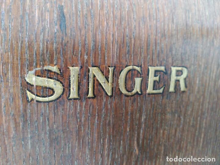 Antigüedades: Maquina coser Singer - Foto 8 - 75472939