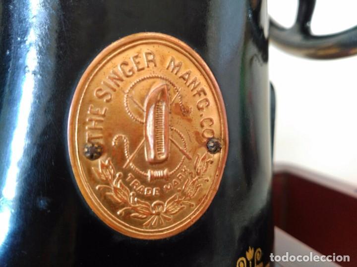 Antigüedades: Maquina coser Singer - Foto 10 - 75472939