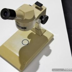Antigüedades: MICROSCOPIO MARCA CARTON 20X BBI PS020. Lote 75476618