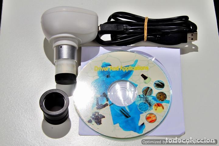 CAMARA TELE PARA MICROSCOPIO BBI121052 R17 (Antigüedades - Técnicas - Instrumentos Ópticos - Microscopios Antiguos)