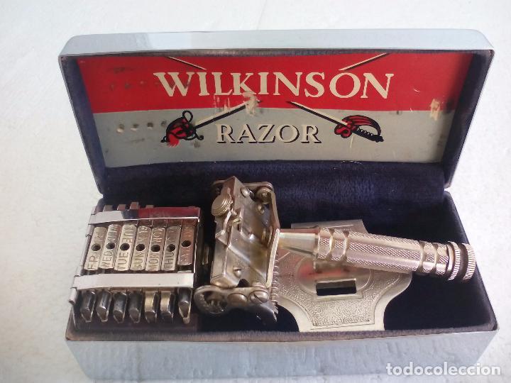 MAQUINILLA DE AFEITAR WILKINSON SWORD 7 DIAS COMPLETA. RAZOR. 7 DAY MODEL. (Antigüedades - Técnicas - Barbería - Maquinillas Antiguas)