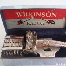 Antigüedades: MAQUINILLA DE AFEITAR WILKINSON SWORD 7 DIAS COMPLETA. RAZOR. 7 DAY MODEL.. Lote 75546959