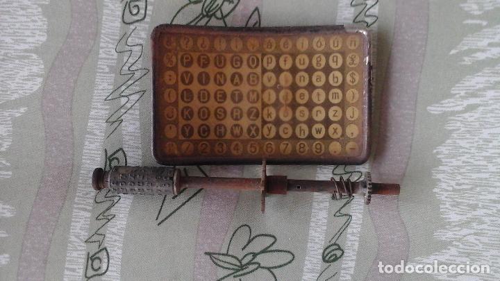 Antigüedades: maquina de escribir mignon aeg - Foto 3 - 27139599