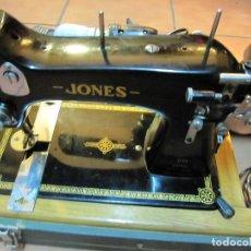 Antigüedades: BONITA MAQUINA DE COSER JONES - FUNCIONA. Lote 75605123