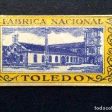 Antigüedades: HOJA DE AFEITAR ANTIGUA-FABRICA NACIONAL DE TOLEDO-VINTAGE. Lote 75606507