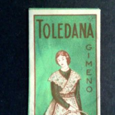 Antigüedades: HOJA DE AFEITAR ANTIGUA-TOLEDANA-GIMENO-TEMPLE DE TOLEDO-VINTAGE. Lote 75614015