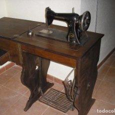Antigüedades: MAQUINA COSER SINGER ANTIGUA. Lote 75687551