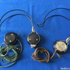 Teléfonos: CASCOS TELEOPERADOR WESTERN ELECTRIC PAT 1918. Lote 75838715