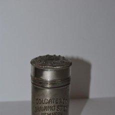 Antigüedades: BOTE DE METAL PARA JABÓN DE AFEITAR - COLGATE - SHAVING STICK - NEW YORK - USA - AÑOS 20-30. Lote 75991479