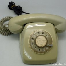 Teléfonos: TELÉFONO HERALDO CITESA SOBREMESA COMPAÑÍA TELEFÓNICA ESPAÑA VERDE USADO AÑOS 70. Lote 134551303