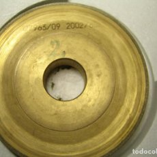 Antigüedades: MUELA DE BISELAR DIAMANTADA PARA LENTES OPTICAS - MOD. 2. Lote 76080791