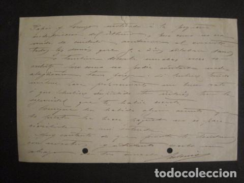 Antigüedades: MAQUINAS COSER GRITZNER - MARCA ESTRELLA -PAPEL DE CARTA AÑO 1908 - VER FOTOS -(V-9040) - Foto 3 - 76166971