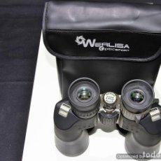 Antigüedades: PRISMATICOS WERLISA 8-20X50 CON FUNDA (ADMIRA EAGLE) AL0103110. Lote 76215965