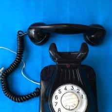 Teléfonos: ANTIGUO TELEFONO DE BAQUELITA CTNE MODELO 5522 EZ - VER FOTOS. Lote 76404899