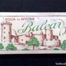 Antigüedades: HOJA DE AFEITAR ANTIGUA-BALEAR-VINTAGE. Lote 76415363