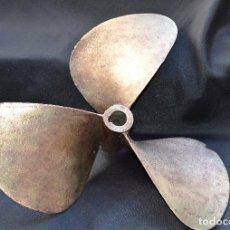 Antigüedades: HÉLICE DE BARCO DE 50 CM DE DIÁMETRO MARCA RADICE DEL 7/98 (1800 ?). Lote 76529563