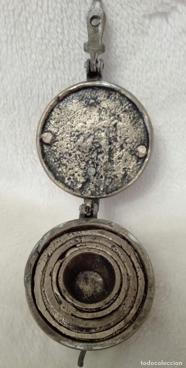 Antigüedades: ANTIGUOS PONDERALES CARL SIGLO XVIII PESOS VASOS ANIDADOS PERFECTO ESTADO EN BRONCE PATINA 143 eur - Foto 3 - 76556147