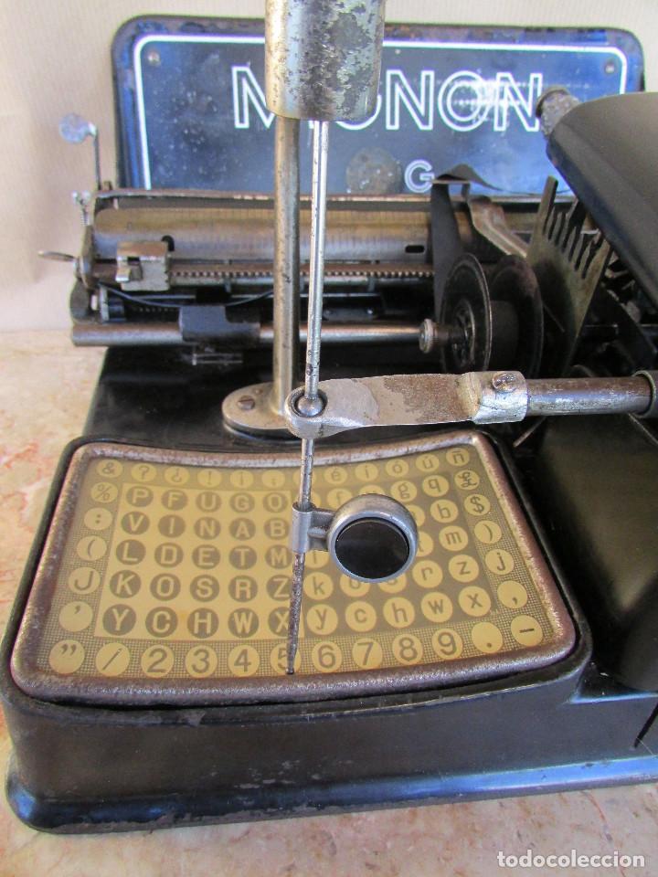 Antigüedades: Máquina de escribir año 1924 de sólo dos teclas MIGNON AEG. Funciona. De museo - Foto 3 - 76576367