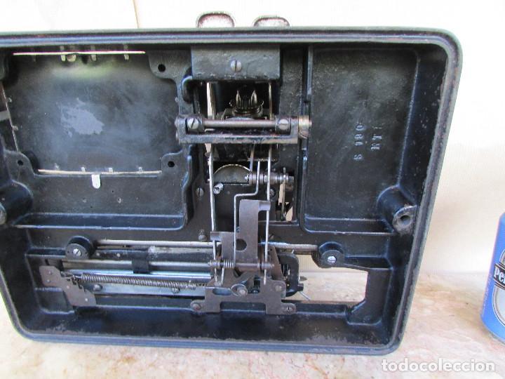 Antigüedades: Máquina de escribir año 1924 de sólo dos teclas MIGNON AEG. Funciona. De museo - Foto 10 - 76576367