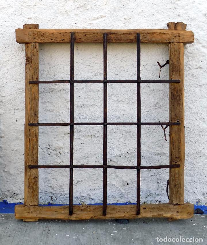 ventanuco con reja pasante. con marco. con bisa - Comprar Objetos ...