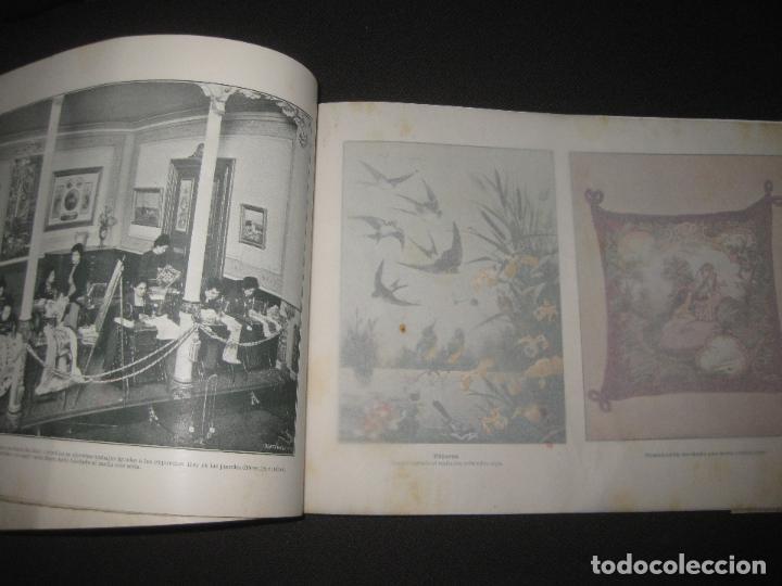 Antigüedades: EXPOSICION FABRIL Y ARTISTICA DE LAS MAQUINAS SINGER PARA COSER. ALBUM ILUSTRADO. 1901. - Foto 4 - 76593519