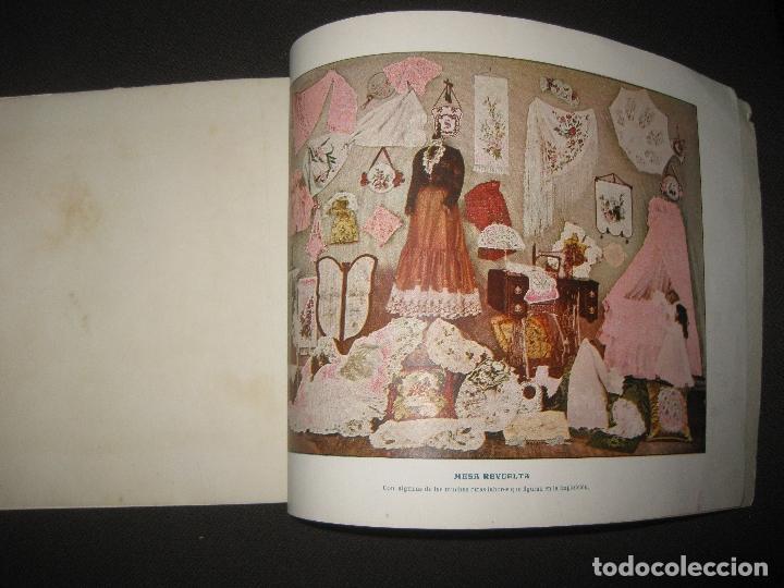 Antigüedades: EXPOSICION FABRIL Y ARTISTICA DE LAS MAQUINAS SINGER PARA COSER. ALBUM ILUSTRADO. 1901. - Foto 6 - 76593519