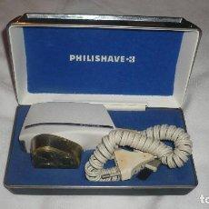 Antigüedades: PHILIPSHAVE 3 MAQUINA ELÉCTRICA AFEITAR AÑOS 70/80. Lote 76613655