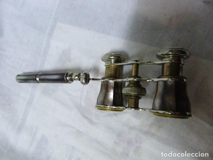 Antigüedades: IMPERTINENTES NACAR-MANGO EXTENSIBLE-ANTIGUO - Foto 7 - 76728007