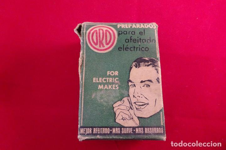 Antigüedades: PREPARADOS PARA EL AFEITADO ELÉCTRICO - ORO - 1/8 DE LITRO - LOCIÓN - NUEVO - - Foto 4 - 76734159