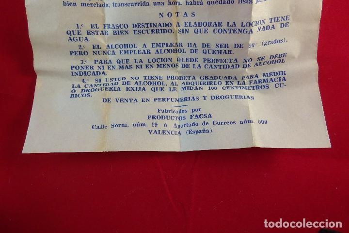 Antigüedades: PREPARADOS PARA EL AFEITADO ELÉCTRICO - ORO - 1/8 DE LITRO - LOCIÓN - NUEVO - - Foto 7 - 76734159