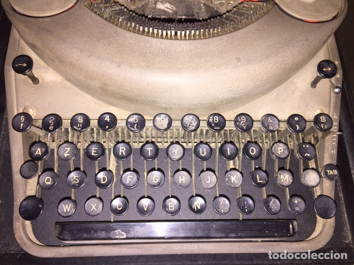 Antigüedades: Máquina de escribir Remington - Foto 4 - 110466118