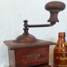 Antigüedades: ANTIGUO MOLINILLO DE CAFÉ. MARCA PEUGEOT FRERES. MARAVILLOSO. OLD COFFEE GRINDER:. Lote 76902747