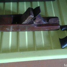 Antigüedades: ANTIGUA GARLOPA DE CARPINTERO. Lote 76984378
