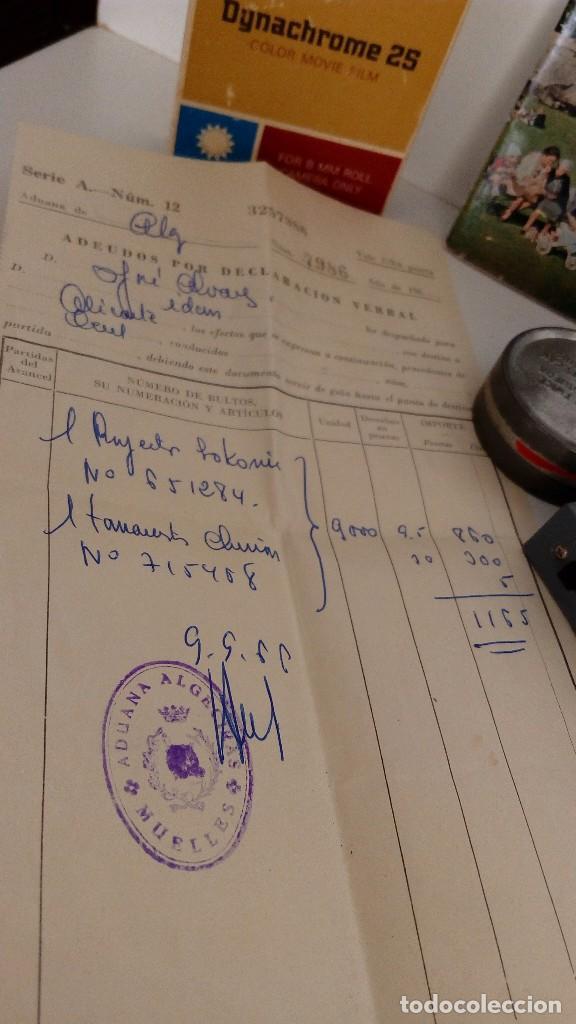 Antigüedades: PROYECTOR Y TOMAVISTA AÑOS 60,S PARA DECORACION BIEN CONSERVADO - Foto 5 - 77064513