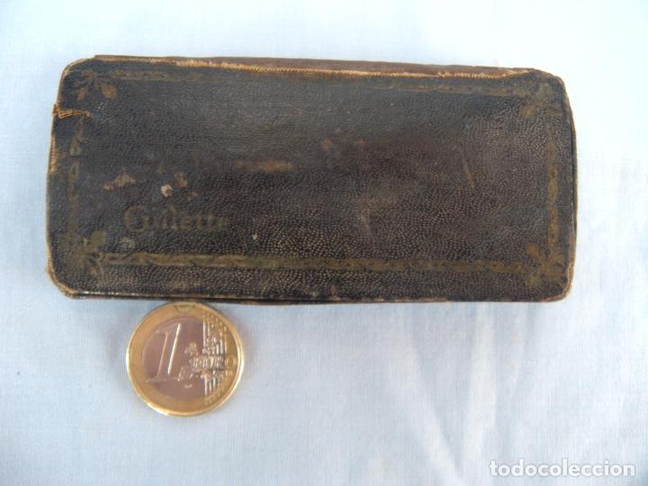 Antigüedades: ESTUCHE MAQUINILLA DE AFEITAR GUILLETTE - Foto 2 - 77116637
