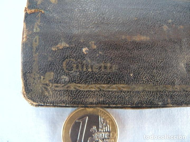 Antigüedades: ESTUCHE MAQUINILLA DE AFEITAR GUILLETTE - Foto 3 - 77116637