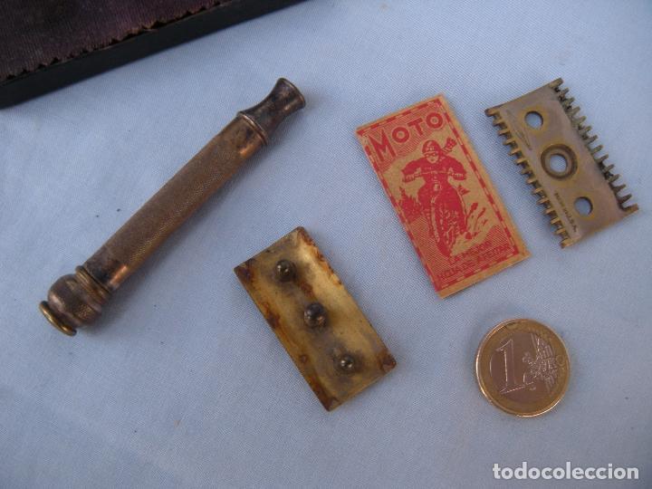 Antigüedades: ESTUCHE MAQUINILLA DE AFEITAR GUILLETTE - Foto 10 - 77116637