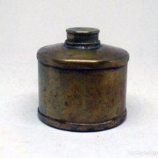 Antigüedades: ANTIGUO RECIPIENTE DE LATÓN - PROTÉSICO DENTAL - DENTISTA. Lote 77243789