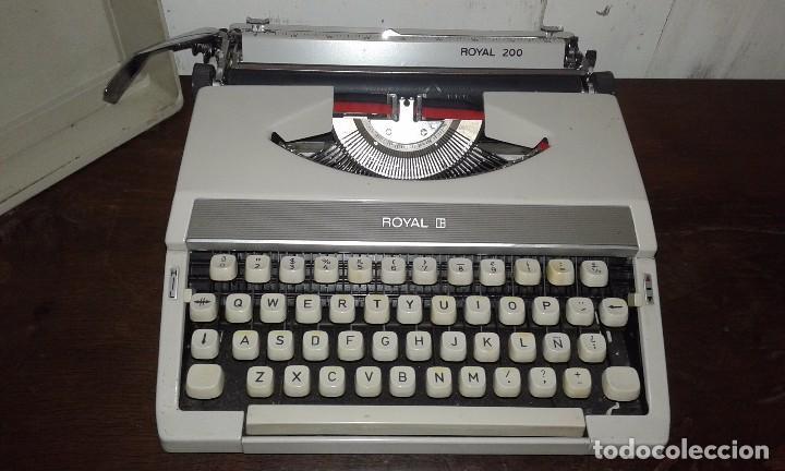 MAQUINA DE ESCRIBIR ROYAL 200 (Antigüedades - Técnicas - Máquinas de Escribir Antiguas - Royal)