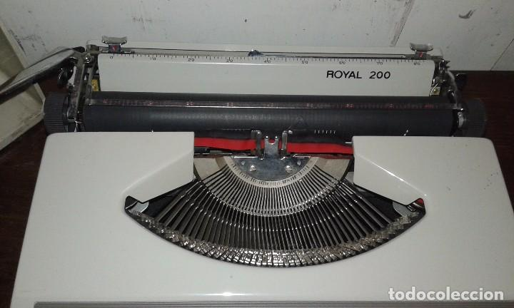 Antigüedades: MAQUINA DE ESCRIBIR ROYAL 200 - Foto 4 - 77719493