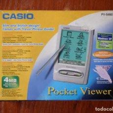 Antigüedades: CASIO POCKET VIEWER PV-S460 PVS460 . Lote 77725125