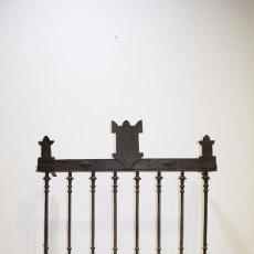 Antigüedades: REJA ANTIGUA DE HIERRO FUNDIDO. Lote 77753497