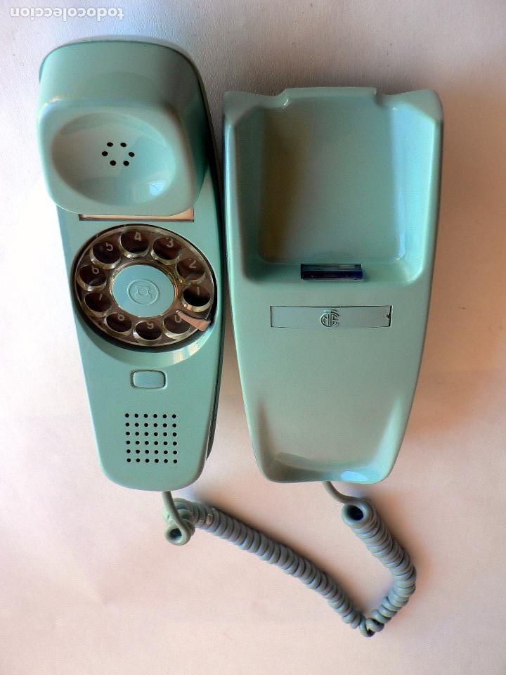 Teléfonos: TELEFONO VINTAGE DE CTNE MODELO GONDOLA DE PARED AZUL CLARO AÑOS 70 CITESA - Foto 6 - 77834637