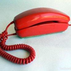 Teléfonos: TELEFONO VINTAGE DE CTNE MODELO GONDOLA COLOR ROJO AÑOS 70 CITESA.. Lote 77835181
